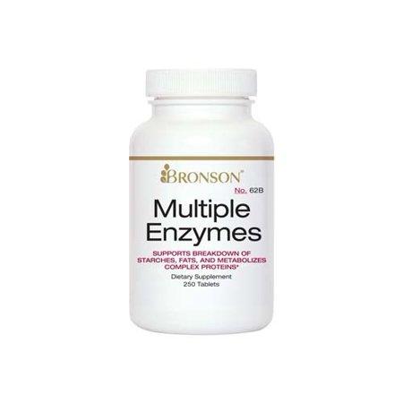 Bronson Enzymes multiples, 250 comprimés