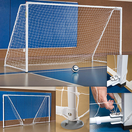 Portable Foldable Indoor Soccer Goal by Generic