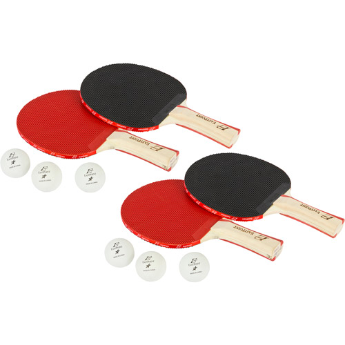 EastPoint Sports 4-Player Table Tennis Set and Organizer