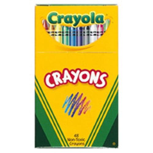 Crayola LLC Crayola Regular Size Crayon 48pk (Set of 2)