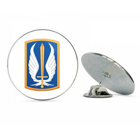US Army 17th Aviation Brigade Patch Metal 0.75