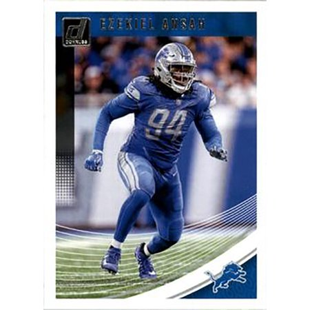 brand new a793f f157d Ezekiel Ansah 2018 Donruss Football 48 Card Lot Detroit Lions #96