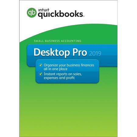 Intuit QuickBooks Desktop Pro 2-user 2019 (Email & CD