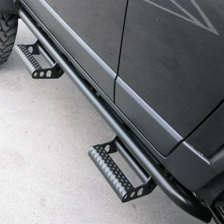 N-Fab RKR Step System 10-17 Toyota 4 Runner (Trail Edition) SUV 4 Door - Tex. Black - 1.75in
