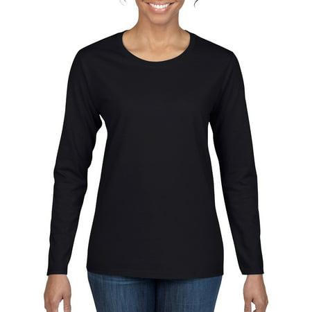 Navy Womens Perennial T-shirt - Women's Classic Long Sleeve T-Shirt