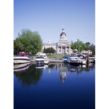 City Hall and Marina, Kingston Ontario, Canada Print Wall Art By Mark Gibson - Halloween City Kingston Ny
