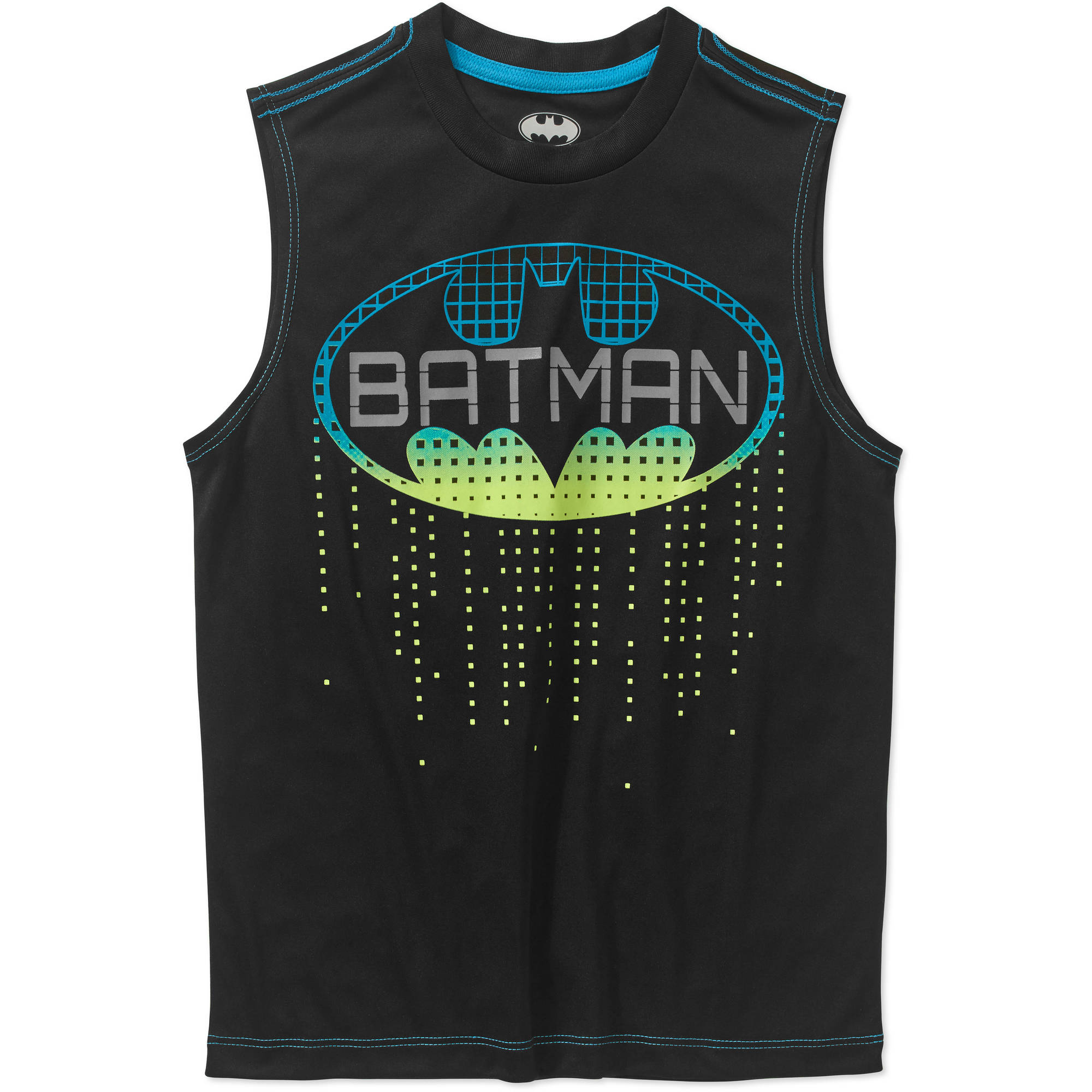 DC Comics Batman Boys' Reflective Muscle Tee by