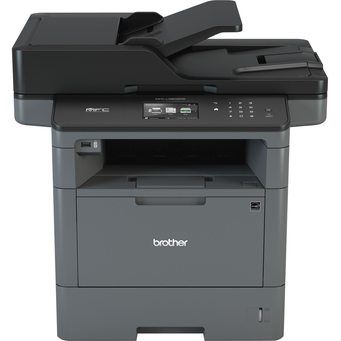 Brother Mfc-l5800dw Laser Multifunction Printer - Monochr...