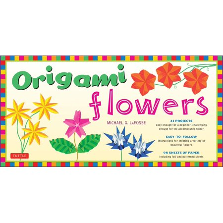 Origami Flowers Kit : Fold Lovely Daises, Lilies, Lotus Flowers and More!: Kit with 2 Origami Books, 41 Projects and 98 Origami Papers
