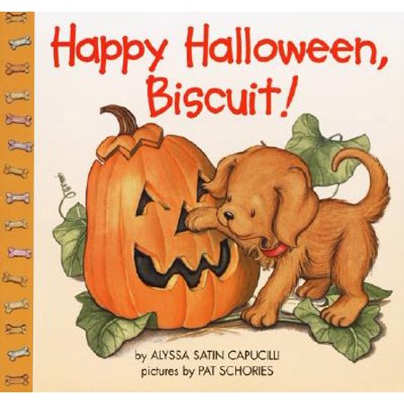 Happy Halloween, Biscuit!](Scary Happy Halloween Fonts)