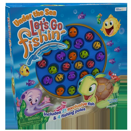 Carnival Fishing Game (Pressman Let's Go Fishin' Under the Sea)