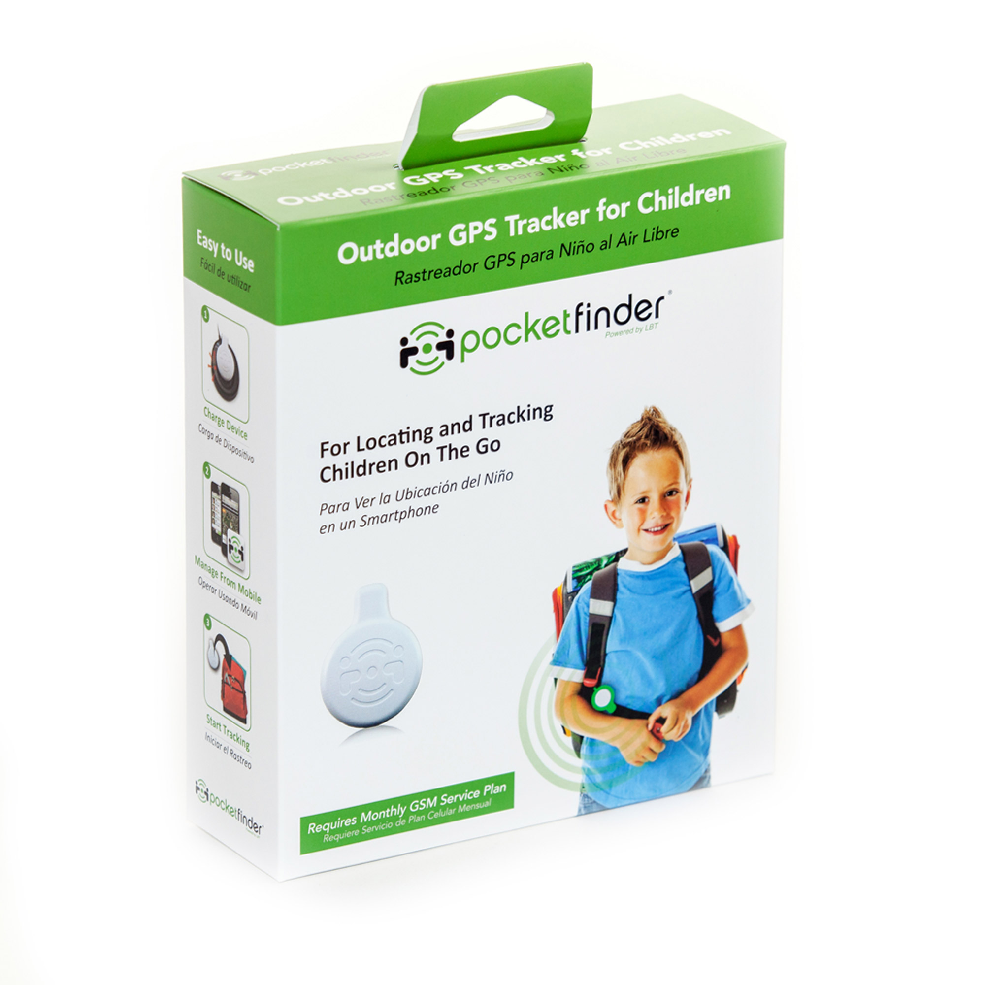 PocketFinder GPS Child Tracker