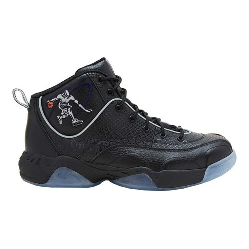 AND1 Coney Island Classic Basketball Shoe(Men's) -Navy/Silver/White