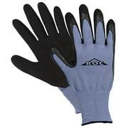 Magid Glove ROC55TS Blue Shell Black Latex Coated Palm Glove, Small