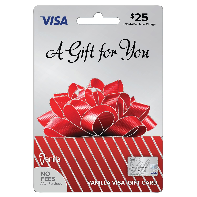 0a343f0e805 Vanilla Visa  25 Gift Card - Walmart.com