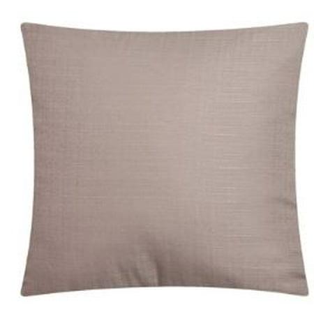 Mainstays Decorative Throw Pillow, Solid, Tan, 16