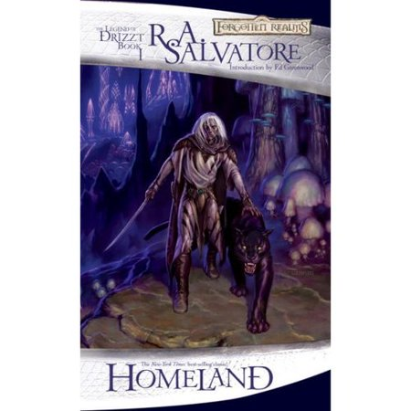Homeland: The Legend of Drizzt (The Dark Elf Trilogy) by