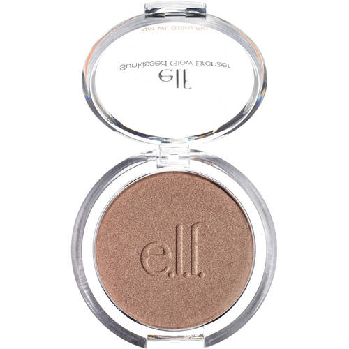 e.l.f. Sunkissed Glow Bronzer, Warm Tan, 0.18 oz