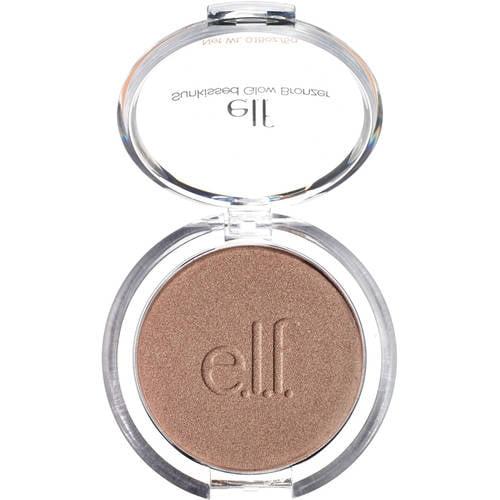 e.l.f. Sunkissed Glow Bronzer, Warm Tan, 0.18 oz