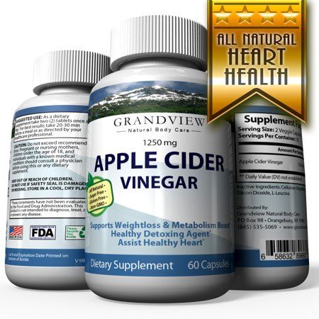Apple Cider Vinegar - Boosts Metabolism and Energy Suppresses Appetite Aids Weigh Loss Promotes Healthy Digestion.  Minimize Cold & Cough