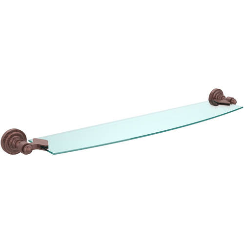 "Dottingham Collection 24"" Glass Shelf (Build to Order)"