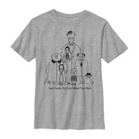 Addams Family Boys' Different Kind of Family T-Shirt