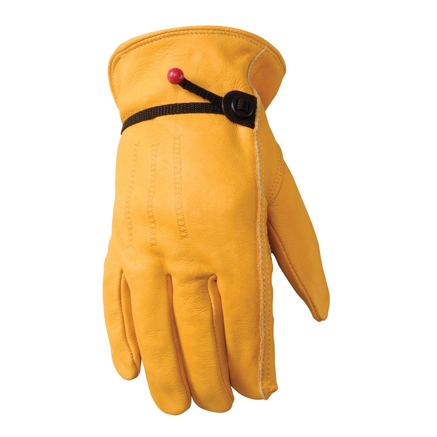 Wells Lamont Grain Cowhide Work Gloves for Men M