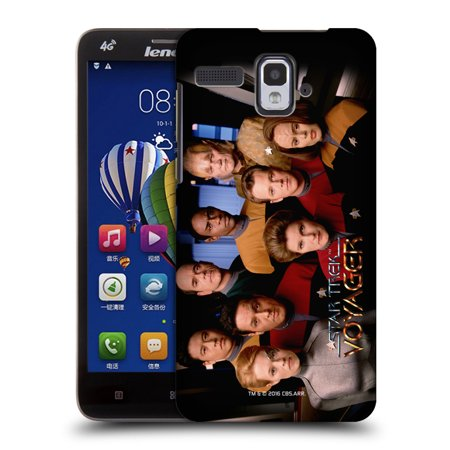 Official Star Trek Iconic Characters Voy Hard Back Case For Lenovo Phones