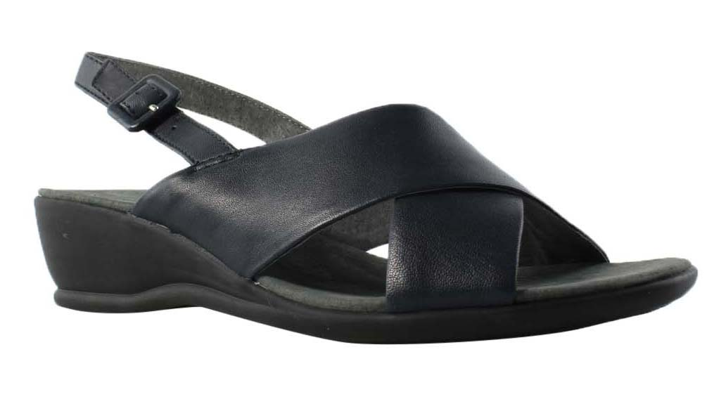 Trotters Womens Blue Slingbacks Sandals Size 6.5 New by Trotters
