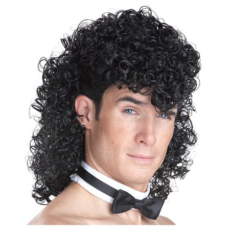 California Costumes Men's Girl's Night Out Wig, Black, One Size
