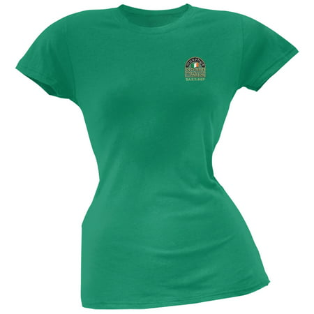 St. Patricks Day -Murphy's Irish Pub Slainte Barkeep Kelly Green Juniors T-Shirt