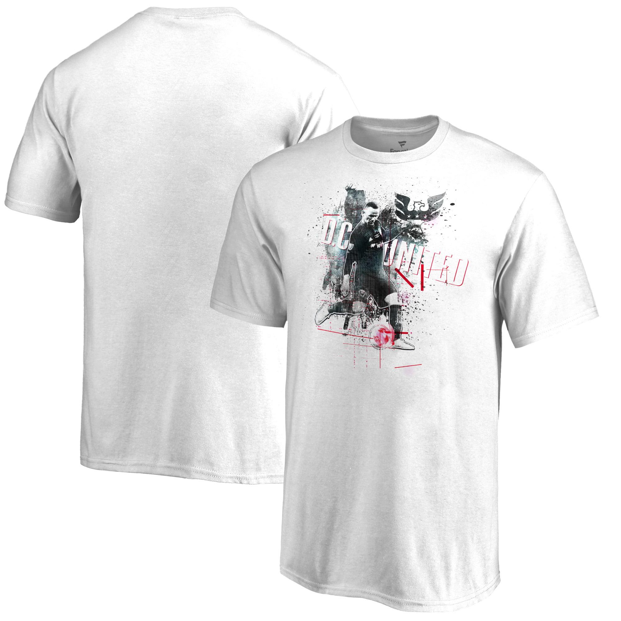 Wayne Rooney D.C. United Fanatics Branded Image T-Shirt - White