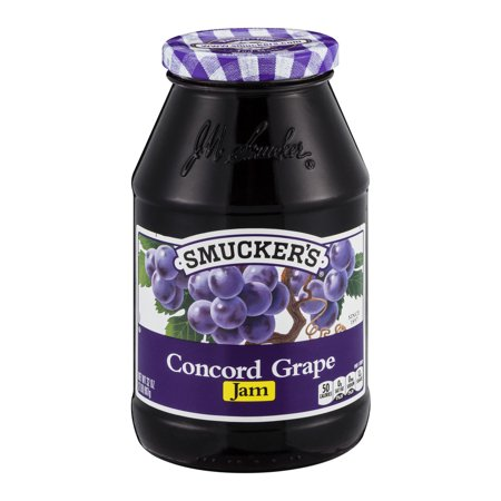 Smuckers Concord Grape Jam  32 0 Oz