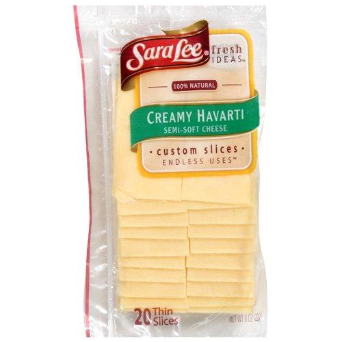 Sara Lee Creamy Semi-Soft Havarti Cheese, 8 oz
