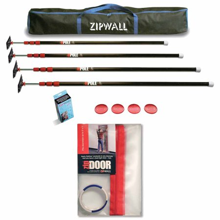 Zp4 10 Feet Spring Loaded Stainless Steel Pole Kit For