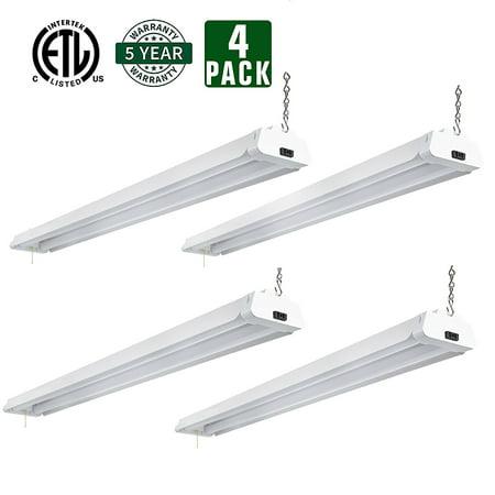 4ft 42 watt led shop light garage workbench ceiling lamp for Occasions garage ligot arnage