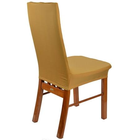 désherbage Bar Banquet partie élastique spandex housse siège Housse chaise 4pcs - image 3 de 5