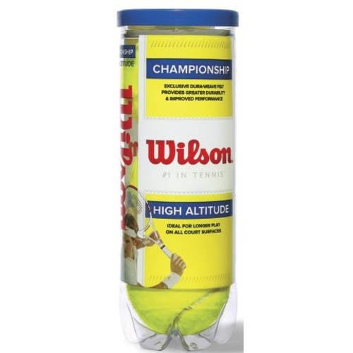 Wilson Championship Hi Alt Tennis balls - 1 Can of 3 Balls