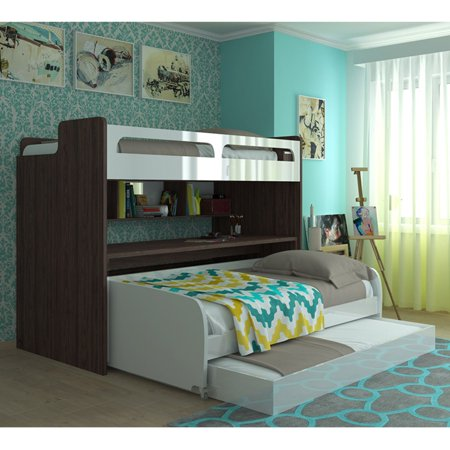 Multimo Bel Mondo Daybed With Loft Bed Table And Trundle
