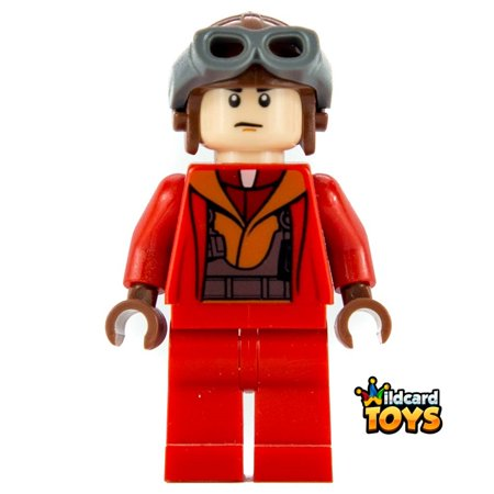 LEGO Star Wars Naboo Fighter Pilot - Red Jumpsuit Minifigure