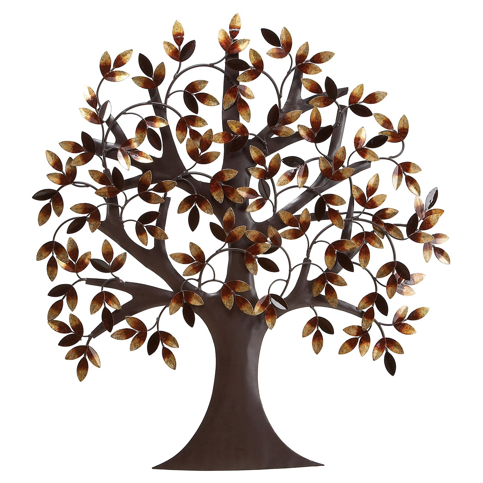 Decmode Metal Tree Wall Decor, Brown by DecMode