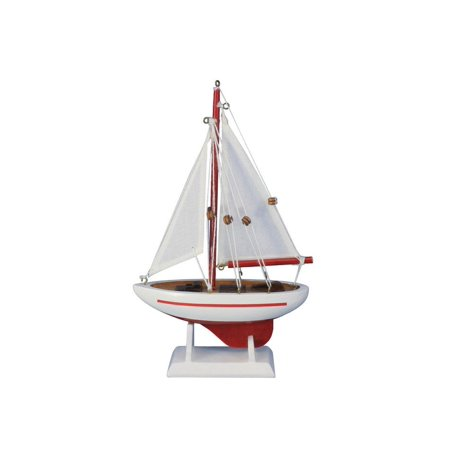 Pacific Sailer Red - White Sails 9