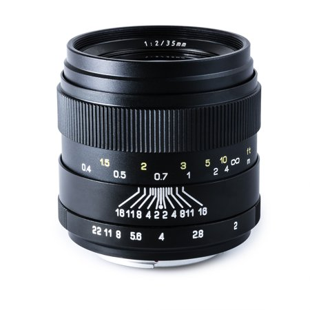 Oshiro 35mm f/2 LD UNC AL Wide Angle Full Frame Prime Lens for Nikon D5, D4S, DF, D4, D3X, D810, D800, D750, D610, D600, D500, D7200, D7100, D5500, D5300, D5200, D3300 and D3200 Digital SLR (Best Prime Lenses For Nikon D810)