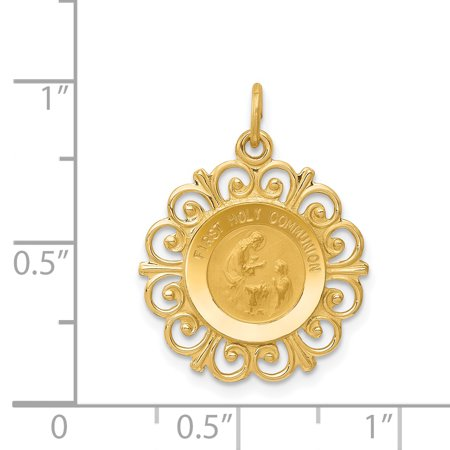 14K Yellow Gold First Holy Communion Charm - image 1 de 2