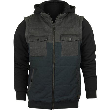 Quiksilver Mens Orney Jacket - Charcoal/Black