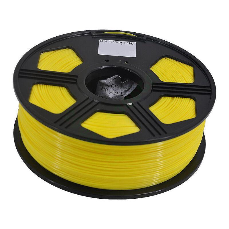 3D Printer PLA Filament 1.75mm 1KG 2.2LB Premium Wire Material Spool Roll Black