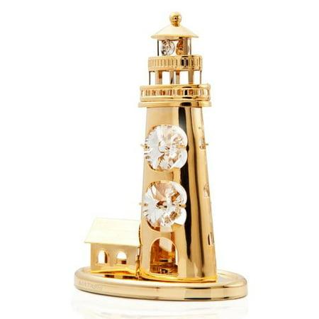 Matashi Crystal Lighthouse Ornament