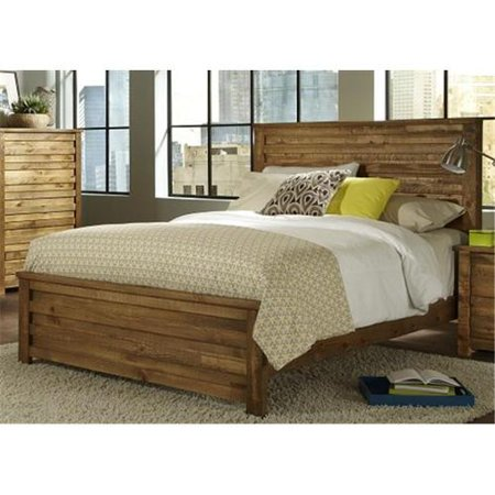 King Headboard And Footboard - Progressive Furniture P604-95 Melrose 6 x 6 King Footboard