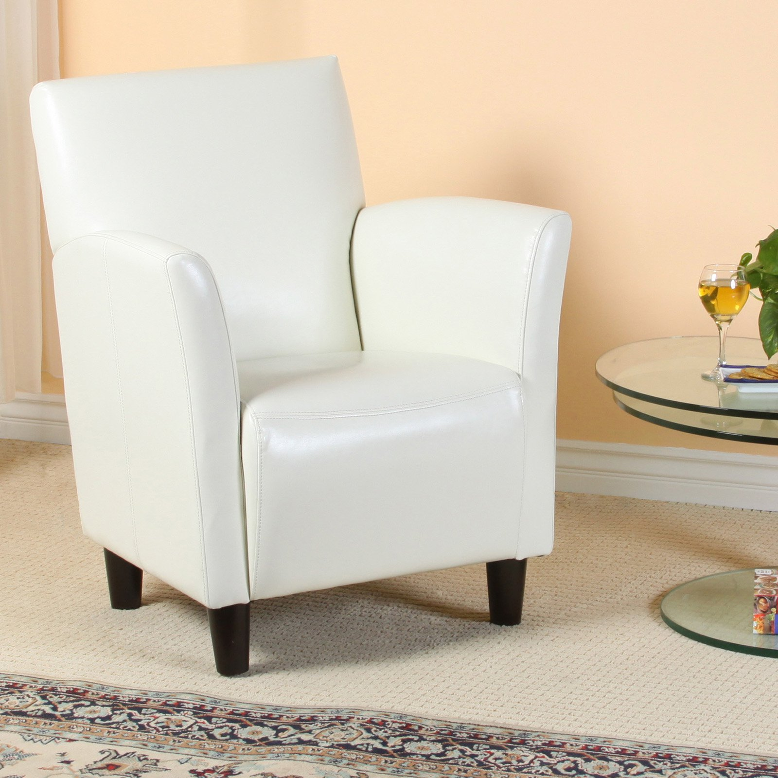 UPC 816764010014 Product Image For Francisco Bonded Leather Club Chair |  Upcitemdb.com ...