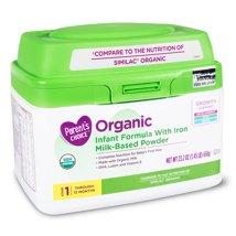 Baby Formula: Parent's Choice Organic